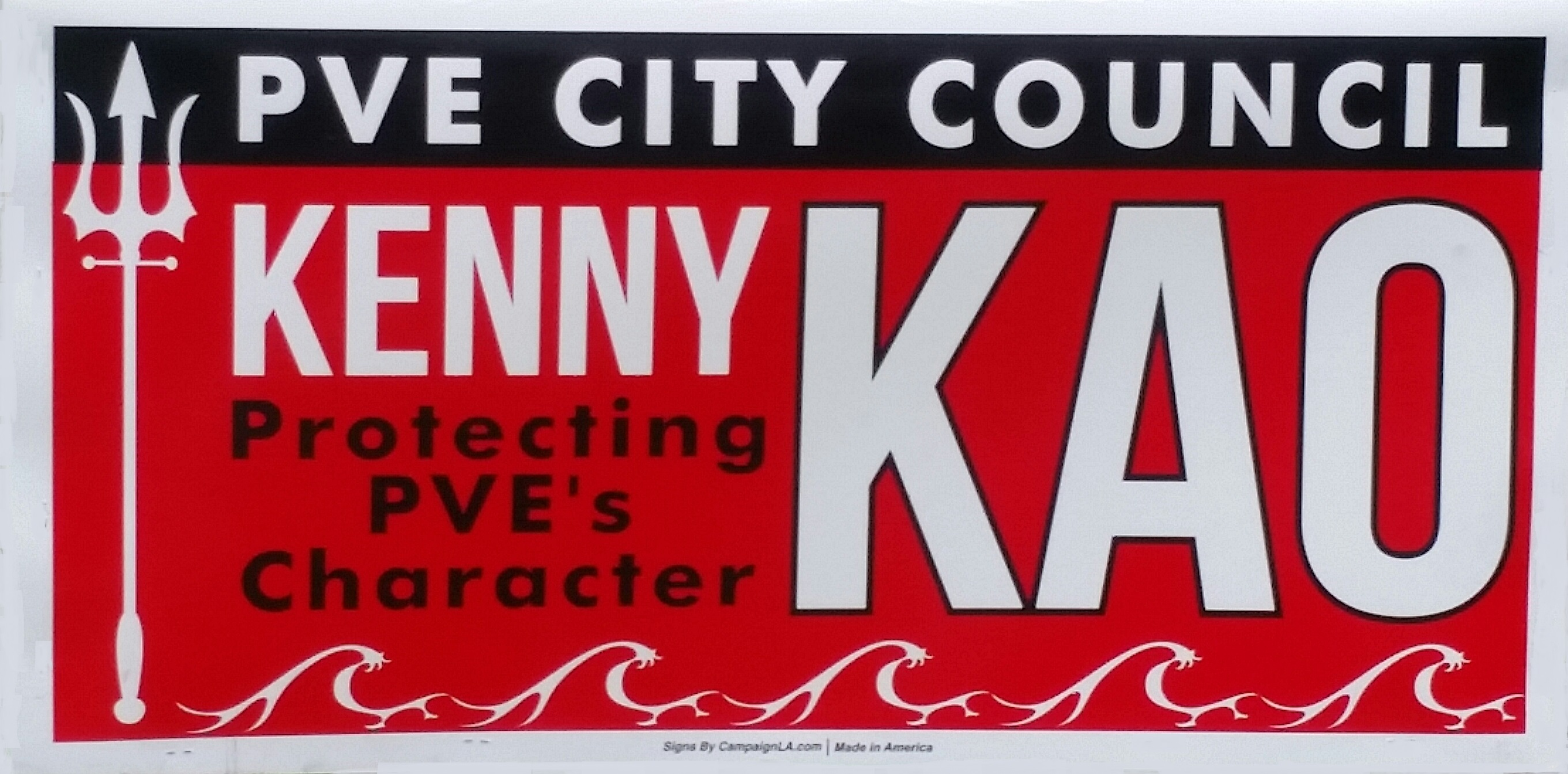 Kao Kenny Lawn Sign Cropped 02-2017