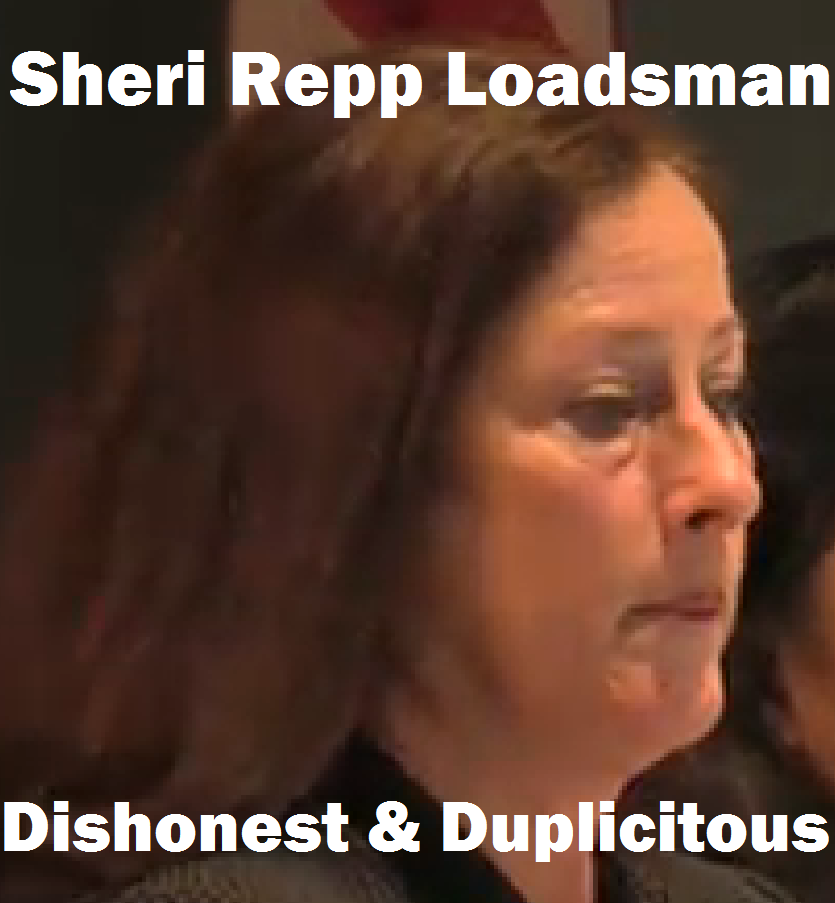 Sheri Repp Loadsman: it must be hard to look a PVE Planning Commissioner (or a PVE resident victim of nearly a decade of PVEMC violations) in the eye when you are lying directly to his face