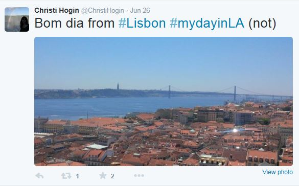 Hogin Lisbon Tweet 07-2015