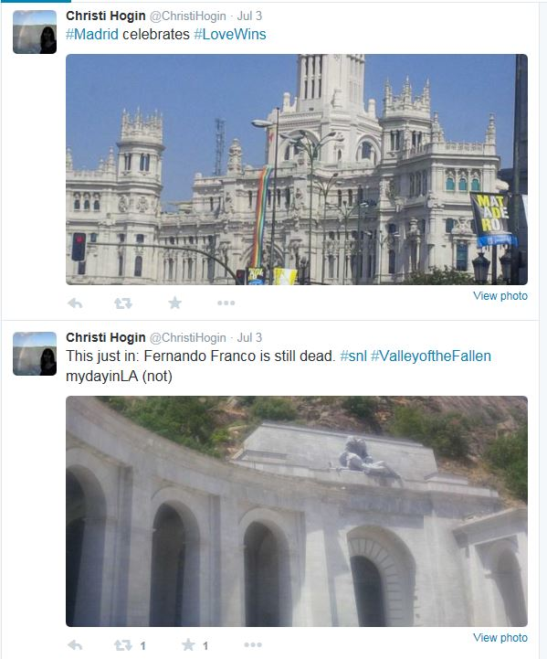 Hogin Madrid Tweets 07-2015