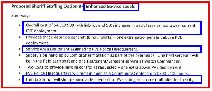 09 28 2016 - LASD Staffing Study-Quote - $4-3MM Excerpt